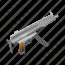 ak47, bullet, gun, machine, military, shoot, weapon icon