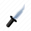 blade, cut, knife, military, sharp, slice icon