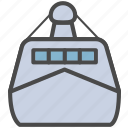 battleship, boat, ship, warship icon