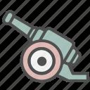 artillery, cannon, gun icon