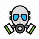 army, gas, mask, war, weapon icon