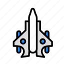 army, jet2, war, weapon icon