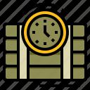 bomb, dynamite, military, timer
