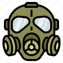 gas, mask, military, protect, toxic