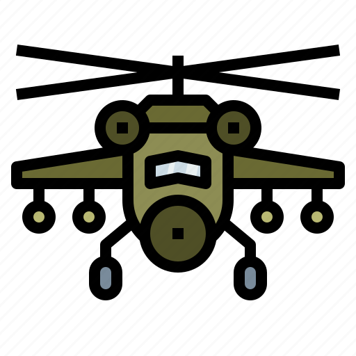 copter, helicopter, military, war icon