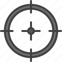 aim, target, sniper, crosshair