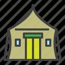 evacuation, tent, safety, shelter