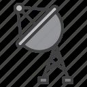 satellite, antenna, radar, broadcast
