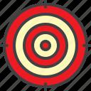target, aim, dartboard, circle