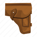 armament, army, holster, military, pistol, soldier, uniform icon