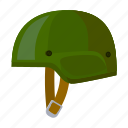 armament, army, helmet, military, protection, soldier, uniform icon