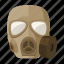appliances, armament, army, gas mask, military, uniform, war icon
