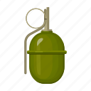 armament, army, bomb, grenade, military, uniform, weapon
