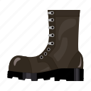 armament, army, boots, military, shoes, soldier, uniform icon
