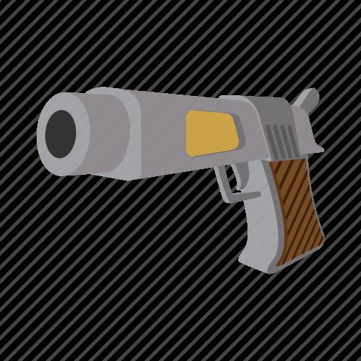arsenal, gun, handgun, piece, pistol, roscoe, weapon icon