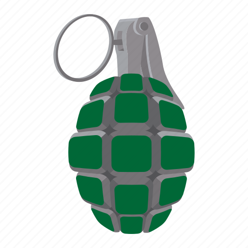 bomb, grenade, hand-grenade, military, pine, pineapple, trench-bomb icon