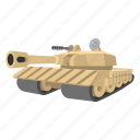 army, battle, military, tank, war, weapon, world icon