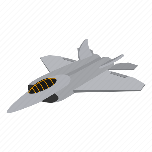 aircraft, cartoon, fighter, flight, fly, jet, plane icon