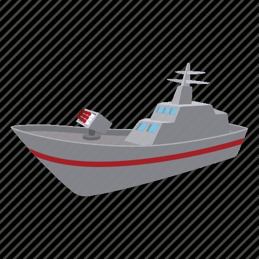 battle, cannon, carrier, cartoon, ship, war, warship icon