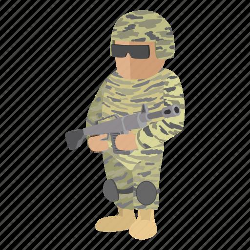 gun, heater, military, piece, rifle, soldier, war icon