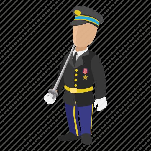 army, cartoon, guard, soldier, uniform, war, warrior icon