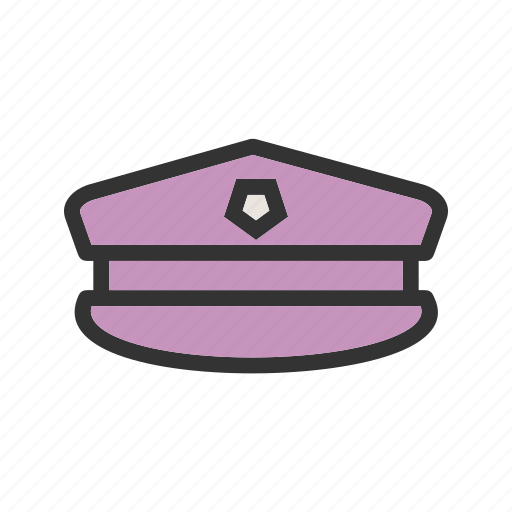 army, badge, cap, force, hat, military, uniform icon