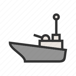 canal, offshore, oil, platform, supply, transport, vessel icon