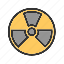area, caution, danger, safety, tape, voltage, zone icon