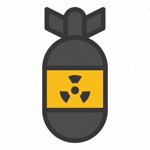 army, bomb, force, military, nuke, weapon icon
