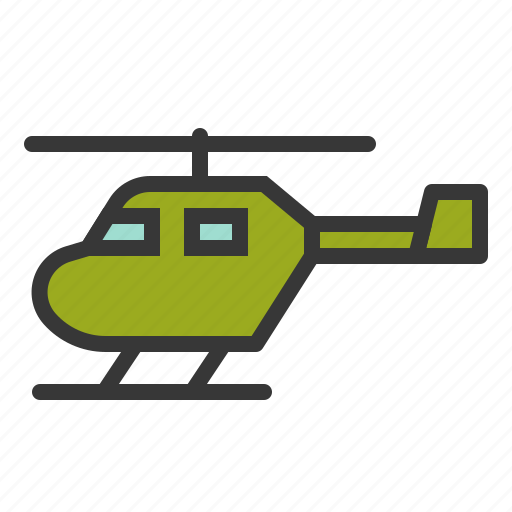 army, copter, force, helicopter, military, vehicle icon