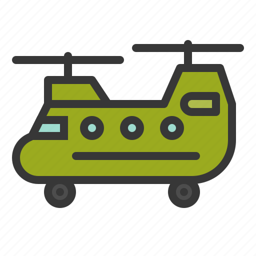 army, force, helicopter, military, military helicopter, vehicle icon