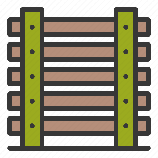 army, fence, fench, wood fence icon