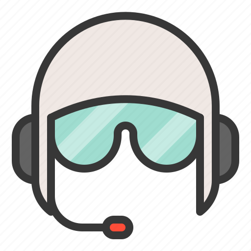 army, call center, communicate, equipment, helmet, operator icon