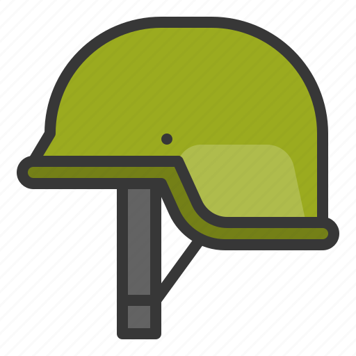 army, army helmet, equipment, helmet icon