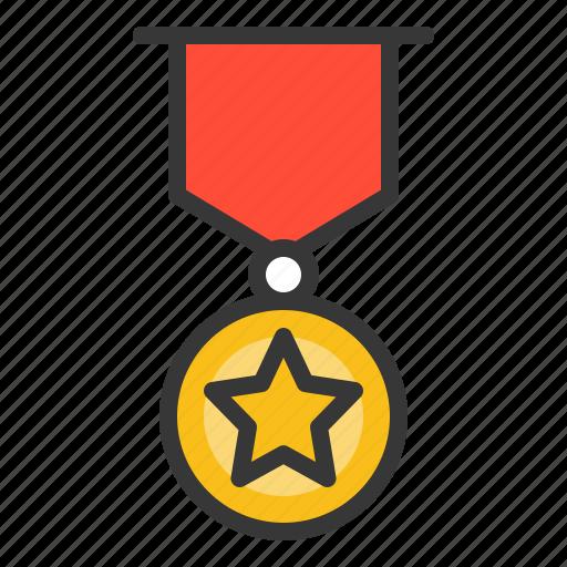 army, award, badge, medal icon