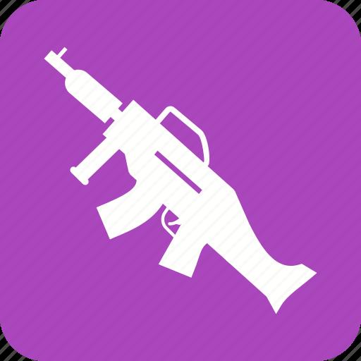 army, fire, gun, guns, machine, shot, war icon