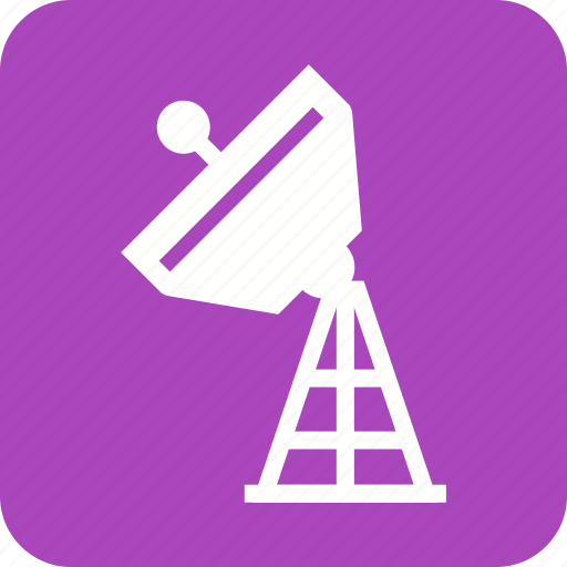 broadcast, broadcasting, dish, military, radar, satellite, tower icon
