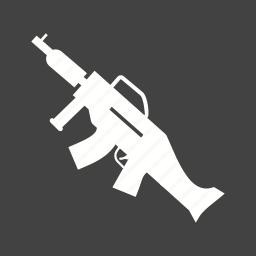 army, dangerous, gun, guns, machine, military, war icon