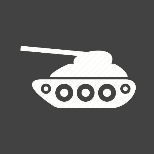 army, gun, machine, military, tank, war, weapon icon