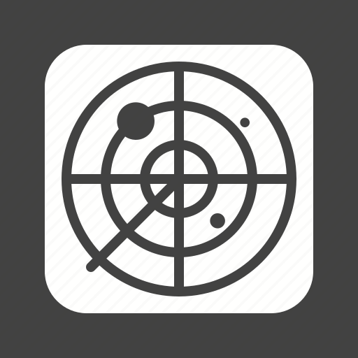 air, green, military, radar, screen, traffic, war icon
