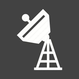 antenna, broadcast, broadcasting, military, radar, satellite, tower icon