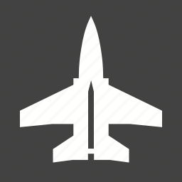 air, aircraft, fighter, flight, jet, military, sky icon