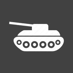 army, military, tank, transport, vehicle, war, weapon icon