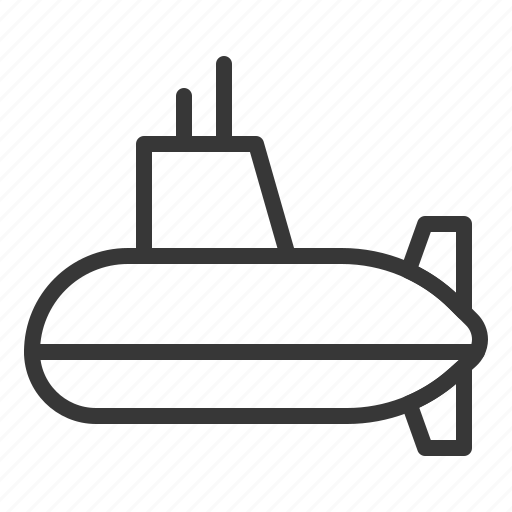 army, force, military, ship, submarine, vehicle icon