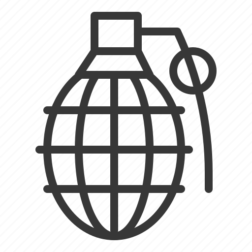 army, bomb, force, grenade, handgrenade, military, weapon icon
