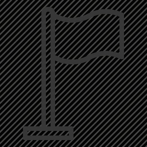 flag, surrender, white flag icon