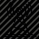antenna, base, connection, military, radar, signal, tower