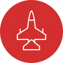 aircraft, airplane, jet icon
