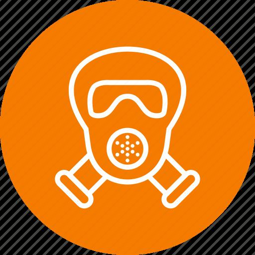 gas mask, mask, scuba icon