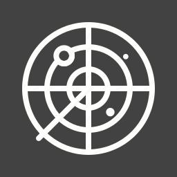 air, army, military, radar, screen, traffic, war icon